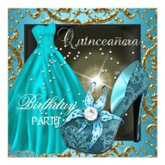 >>>Cheap Price Guarantee          quinceanera 15th Birthday Party Teal Dress Gown Custom Announcements           quinceanera 15th Birthday Party Teal Dress Gown Custom Announcements lowest price for you. In addition you can compare price with another store and read helpful reviews. BuyDeals  ...Cleck Hot Deals >>> http://www.zazzle.com/quinceanera_15th_birthday_party_teal_dress_gown_invitation-161115585791805921?rf=238627982471231924&zbar=1&tc=terrest