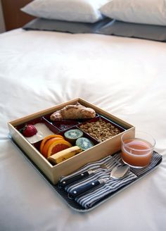 Breakfast Bento Box to bed... hello Mother's Day idea!