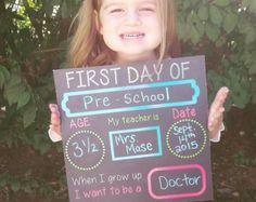 primer dia colegio