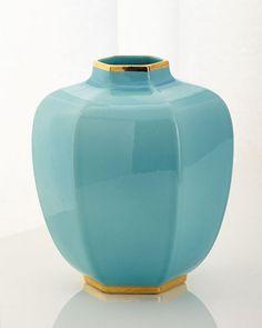H898K AERIN Delphine Geo Vase