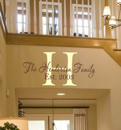 Love this personalized Entry way! Click Customize to create your own! #uppercaseliving #entry #rockinrobinswalls