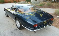 Iso Grifo This is why the Iso Grifo is one of the most stunning GT cars ever designed.