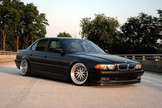 BMW E38  Always wanted one of these as a daily driver - V12, bags, style, boom.