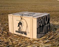 Caja de madera para guardar todos tus recuerdos. Decorativa y funcional a partes iguales.
