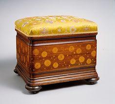 1881-1882 American (New York) Ottoman at the Metropolitan Museum of Art, New York