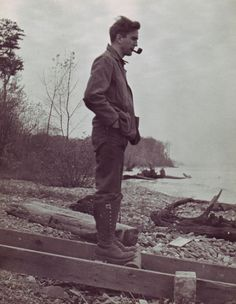 He would smoke his pipe every morning before going out to catch the fish for supper. Every time his face would concrete into one of thought and one could just tell that the whole world was weighing on his mind. -ELN