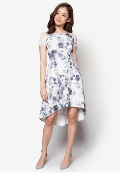 F block long dress cantik