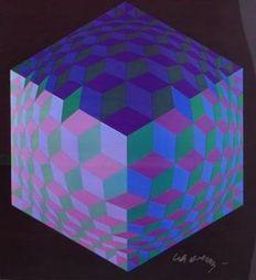 Victor Vasarely - HAT-LEG