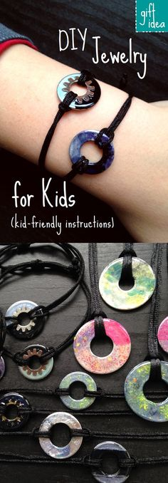 We made 31 beautiful bracelets and necklaces for gifts. So fun and easy to make. Get the complete, kid-friendly instructions & supply list.