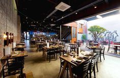 Lapa Restaurant by Paul Burnham, Fremantle – Australia » Retail Design Blog