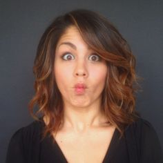 megan batoon hair is amazing and so is she!