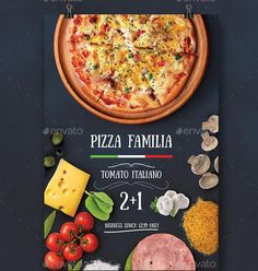 20+ Pizza Flyer Template PSD for Restaurant, Shop Promotion and Offers