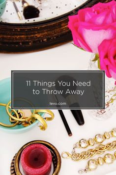 De-stressing & de-cluttering: what to get rid of. www.levo.com