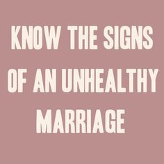 Know the Signs of an Unhealthy Marriage >>> There are usually warning signs when the marriage is getting bad and if ignored may lead to bigger marital problems and worse separation or divorce. So what are the signs of an unhealthy marriage? Troubled Marriage Quotes, Bad Marriage Quotes, Marriage Advice Cards, Troubled Relationship, Love And Marriage, Marriage Relationship, Happy Marriage, Relationships, Failing Marriage