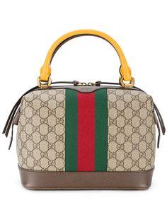 Shop Gucci GG Supreme tote bag