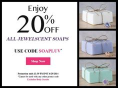 THIS WEEKEND ONLY! www.jewelscent.com/KarinGriffis