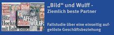 """""""#BILD und #Wulff - Ziemlich beste Partner"""", die aktuelle BILD-Studie der Otto-Brenner-Stiftung. OBS-Autoren der Fallstudie über eine einseitig aufgelöste Geschäftsbeziehung sind Dr. Hans-Jürgen Arlt und Dr. Wolfgang Storz. FaM 2012, OBS-Arbeitsheft 71. Bestellungen oder download: Otto-Brenner-Stiftung. ISSN 1863-6934.   http://www.atase.de/blog/download/http://www.otto-brenner-stiftung.de/fileadmin/user_data/stiftung/dokumente/AH71_Bild_Wulff/AH71_Wulff_WEB.pdf"""