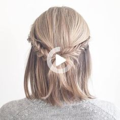 Short hairstyles are convenient in every-day wear, but what about prom when most girls are planning to rock luxurious curls and fancy updos? Fear not, your short tresses can also be styled all the rage. Here are fresh trendy ideas for prom hairstyles for short hair worthy to show off at your senior ball. As … #simplehairstyles