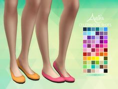 Women Shoes _ Ballet Flat shoes The Sims 4 _ - The Sims 4 Love Life Asia VietNam Maxis, Sims 4 Mm Cc, Sims Four, Sims 4 Cc Shoes, Sims 4 Toddler, Back In The Game, Sims 4 Cas, Sims 4 Cc Finds, Sims 4 Clothing