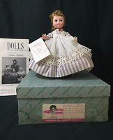 "VINTAGE MADAME ALEXANDER Little Women ""Meg"" ALEXANDER-KINS DOLL, 8"" with Box"