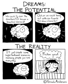 Dreams. By Sarah Andersen.