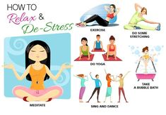 How To Relax and De-Stress