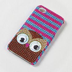 Googly Eye Owl iPhone Cover