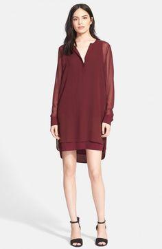 209fd15e5b36a layered chiffon tunic dress - best of Nordstrom Anniversary Sale