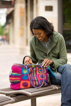 Ravelry: Pinata Bag pattern by Tracy St. John