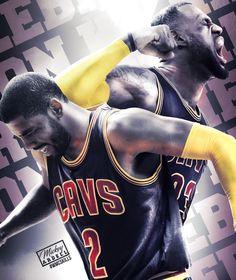 Lebron James Kyrie Cleveland Cavaliers #wmcskills