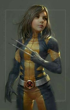 Laura (X-23) X-Men suit by ?? | All-New Wolverine/ Logan (2017)