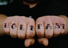 holdfast- a great explanation of traditional nautical tattoos and meanings behind them.