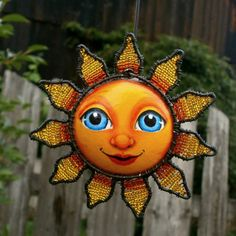 Sluníčko -závěs
