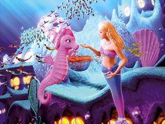 Barbie The Pearl Princess Lumina & friend