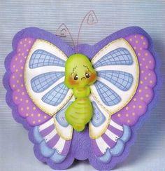 mariposas y mas mariposas en el Foro de Manualidades
