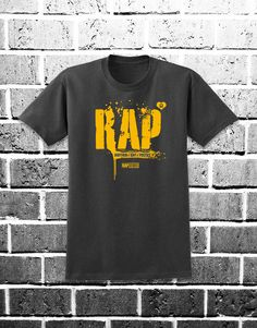 RAP x ilovegraffiti. Puedes comprarla en: http://www.ilovegraffiti.es/producto/camiseta-rap-x-ilovegraffiti/