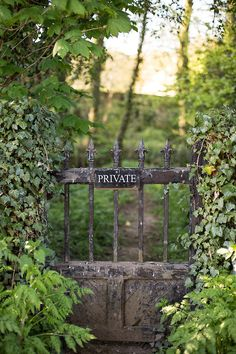 Ignore this sign and come into my garden.....