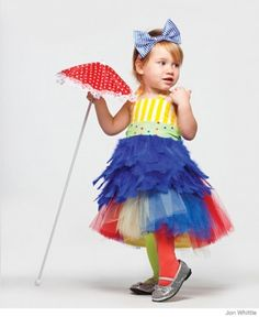 This whimsical tightrope walker #costume is sure to stand out!