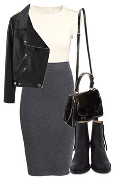 """""""Untitled #5512"""" by laurenmboot ❤ liked on Polyvore featuring H&M, Fendi and Acne Studios"""