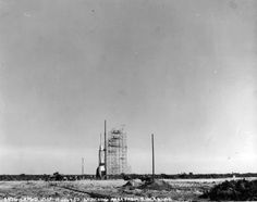 Bumper 7, Cape Canaveral Pad 3, 1950