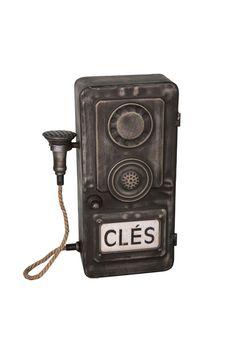 Διακοσμητικά :: Διακοσμητικά Τοίχου :: Διακοσμητικό Τοίχου Τηλέφωνο Μαύρο Electronics, Styles, Antiques, Design, Products, Antiquities, Antique, Old Stuff