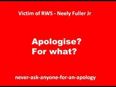 Neely Fuller - Never-ask-anyone-for-an-apology -  #dontdothecrimeifyoucantdothetime #ishmahilblagrove #gullible #satire #comedy #grenfelltower  #woke #nasa #conspiracytheory #nwo #trump #chemtrails #zionist #vaccines #fluoride #freemason #falseflag #flatearth #illuminati #reptilian #flatearth #pseudoscience #falseflag #ufo #ancientknowledge