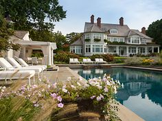 Gorgeous pool and landscaping