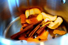 Hot Apple Cider Recipe from the Pioneer Woman- Never fails to make me think of Fall :)