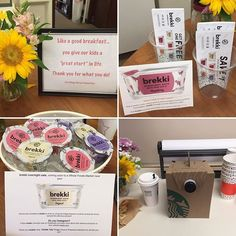 "Teacher Appreciation week started with ""brekki"". How fun to try out a product that hasn't even hit the shelves yet?!?! Thank you Melinda Kollus and brekki for the delectable breakfast!!! #villagechurchpreschool #villagechurchrsf #ranchosantafe #fairbanksranch #delmar #encinitas #brekki #ranchosantafelocals #sandiegoconnection #sdlocals #rsflocals - posted by Village Church Preschool  https://www.instagram.com/villagechurchpreschool. See more post on Rancho Santa Fe at…"