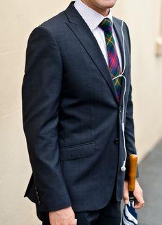 I'm a bit obsessed with tartan ties.