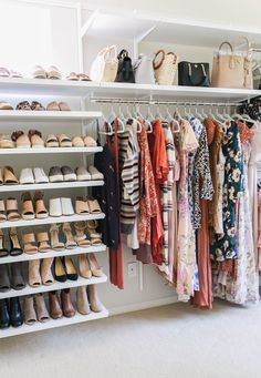 trendy home office closet organization organizing ideas Bedroom Closet Storage, Master Bedroom Closet, Shelves In Bedroom, Closet Shelves, Storage Room, Bedroom Drawers, Diy Bedroom, Shoe Storage, Storage Drawers