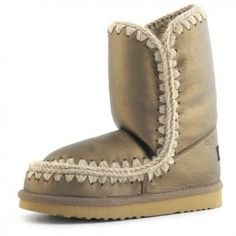 a03de3702f5 Mou Eskimo 24 Limited Edition Boots Women Pearl Nappa Bronze  winterboots   fashion  womenstyle
