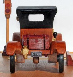 Woodworking plan to build a wood model of a Model T Ford Coloring For Kids Free, Woodworking Plans, Woodworking Projects, Wooden Car, Wood Toys, Ford Models, Diy Craft Projects, Crafts, New Toys