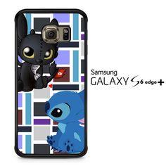 Stitch Toothless Y2889 Samsung Galaxy S6 Edge Plus Case